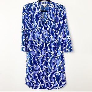 Diane Von Furstenberg Freya Silk blend dress